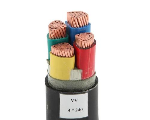 聚氯乙烯绝缘聚乙烯护套电力电缆 VV/VLV-0.6/1KV