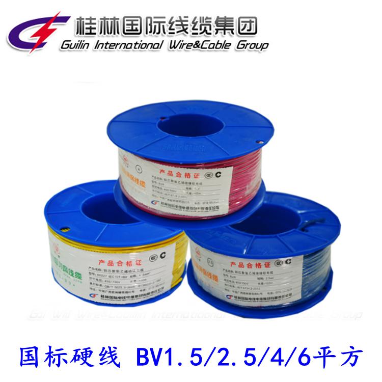 铜芯聚氯乙烯绝缘电线 BV