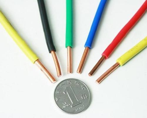 铜芯耐热90℃聚氯乙烯绝缘电线